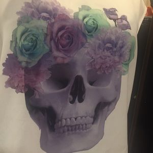 Divided Tops - H&M Divided Skull Top